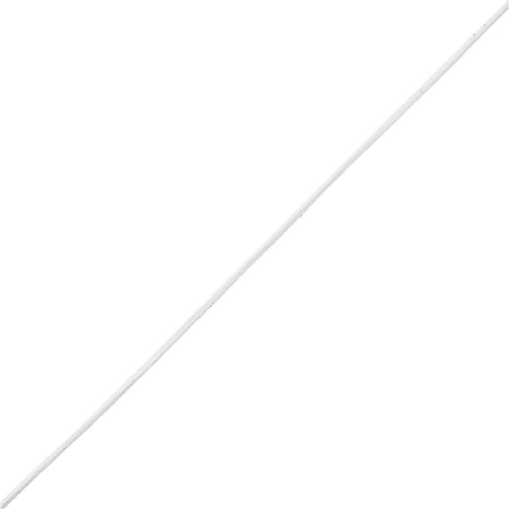 Fio de Couro Indiano - Branco - 1.5mm - 100m  - Nathalia Bijoux®