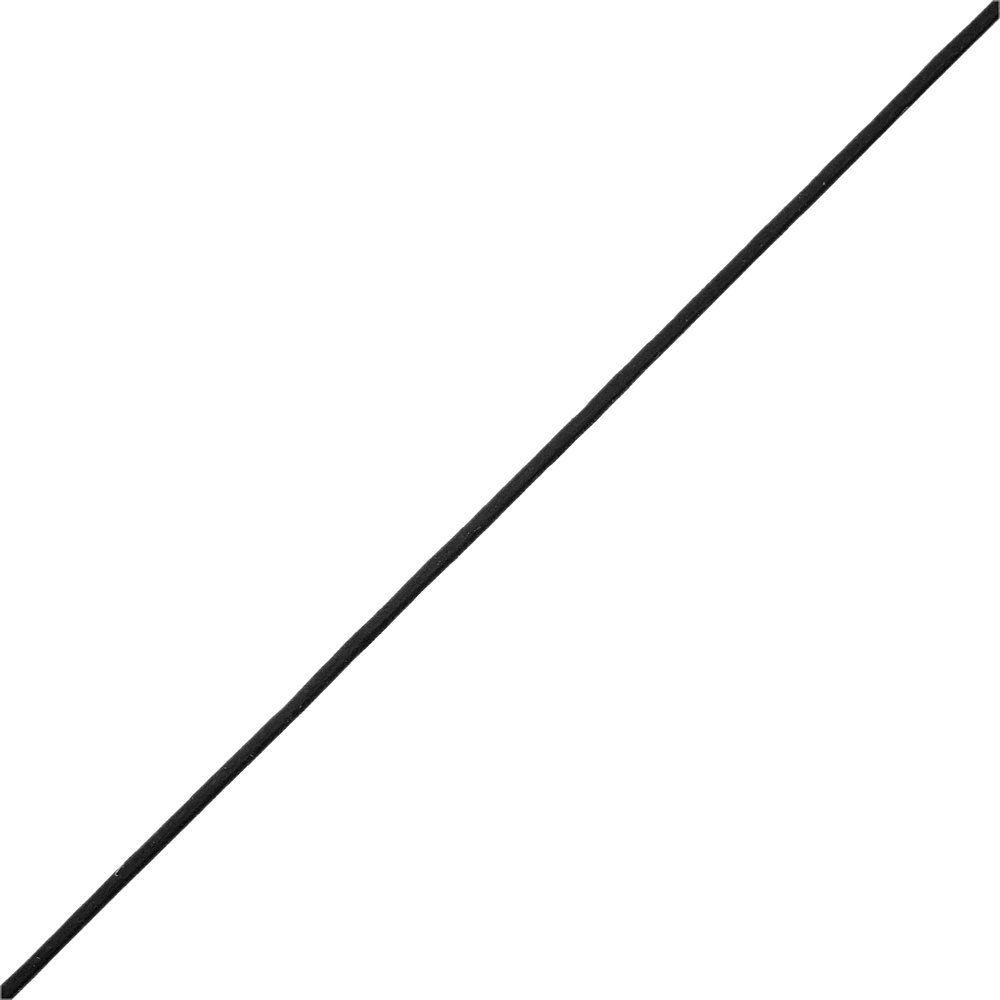 Fio de Couro Indiano - Preto - 1.5mm - 100m  - Nathalia Bijoux®