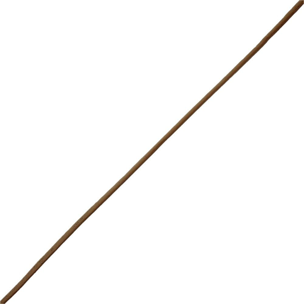 Fio de Couro Indiano - Chocolate 2 - 2mm - 100m  - Nathalia Bijoux®
