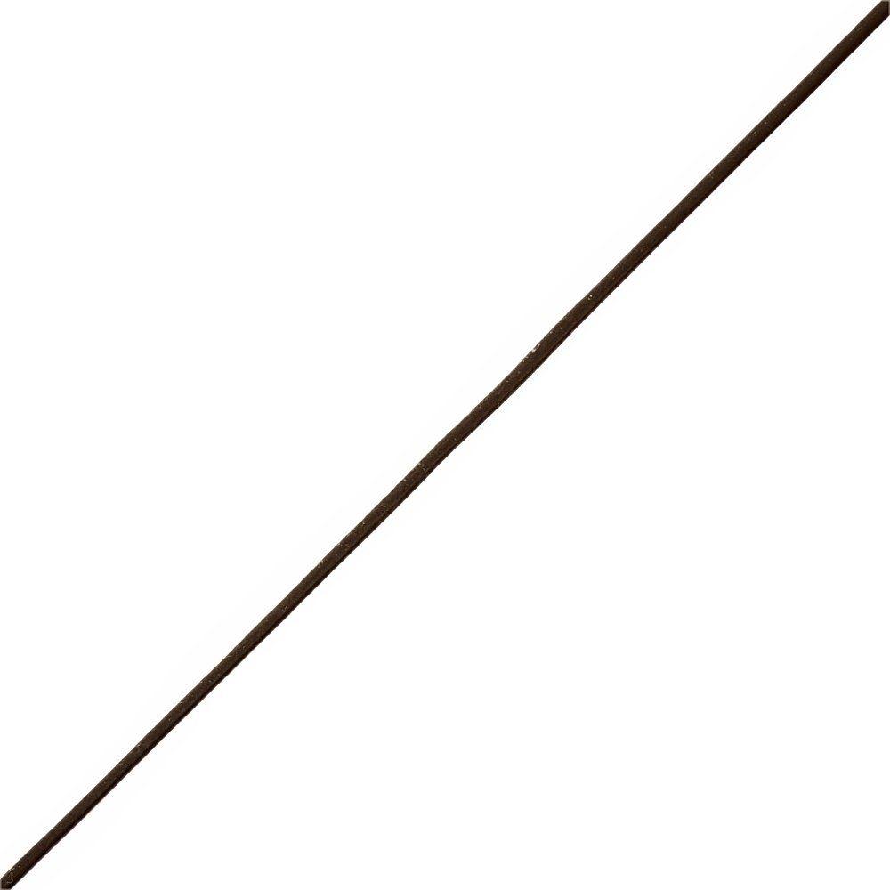 Fio de Couro Indiano - Café 2 - 2mm - 100m  - Nathalia Bijoux®