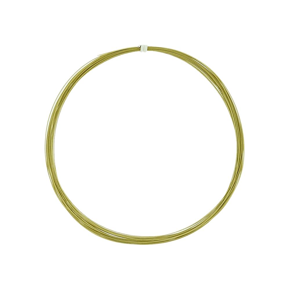 Cabo de Aço - Dourado 1 - 0.6mm - 10m  - Nathalia Bijoux®