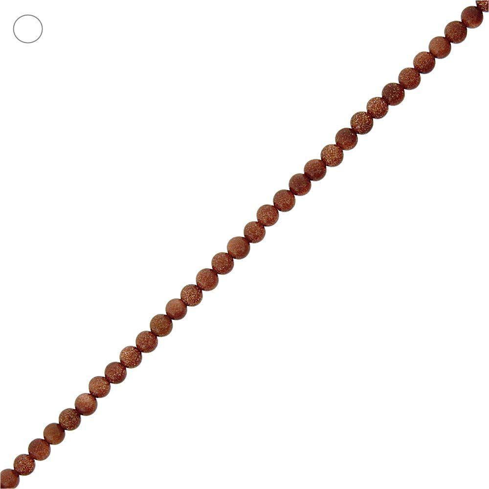 Entremeio Bolinha de Pedra do Sol - 3mm - 40cm  - Nathalia Bijoux®