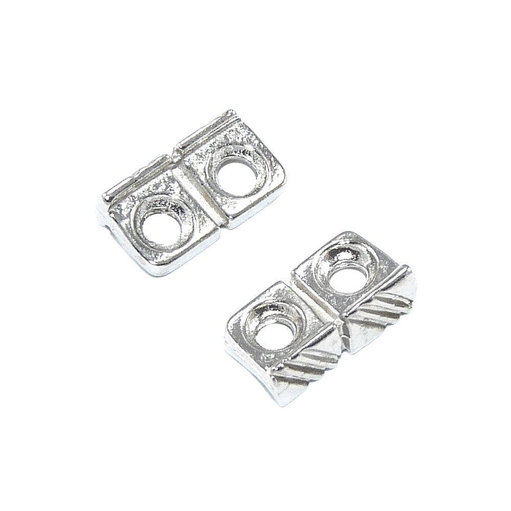 Separador de Metal 2 Saídas - 10mm  - Nathalia Bijoux®