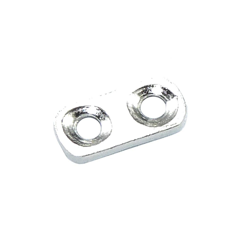 Separador de Metal 2 Saídas - 11mm  - Nathalia Bijoux®