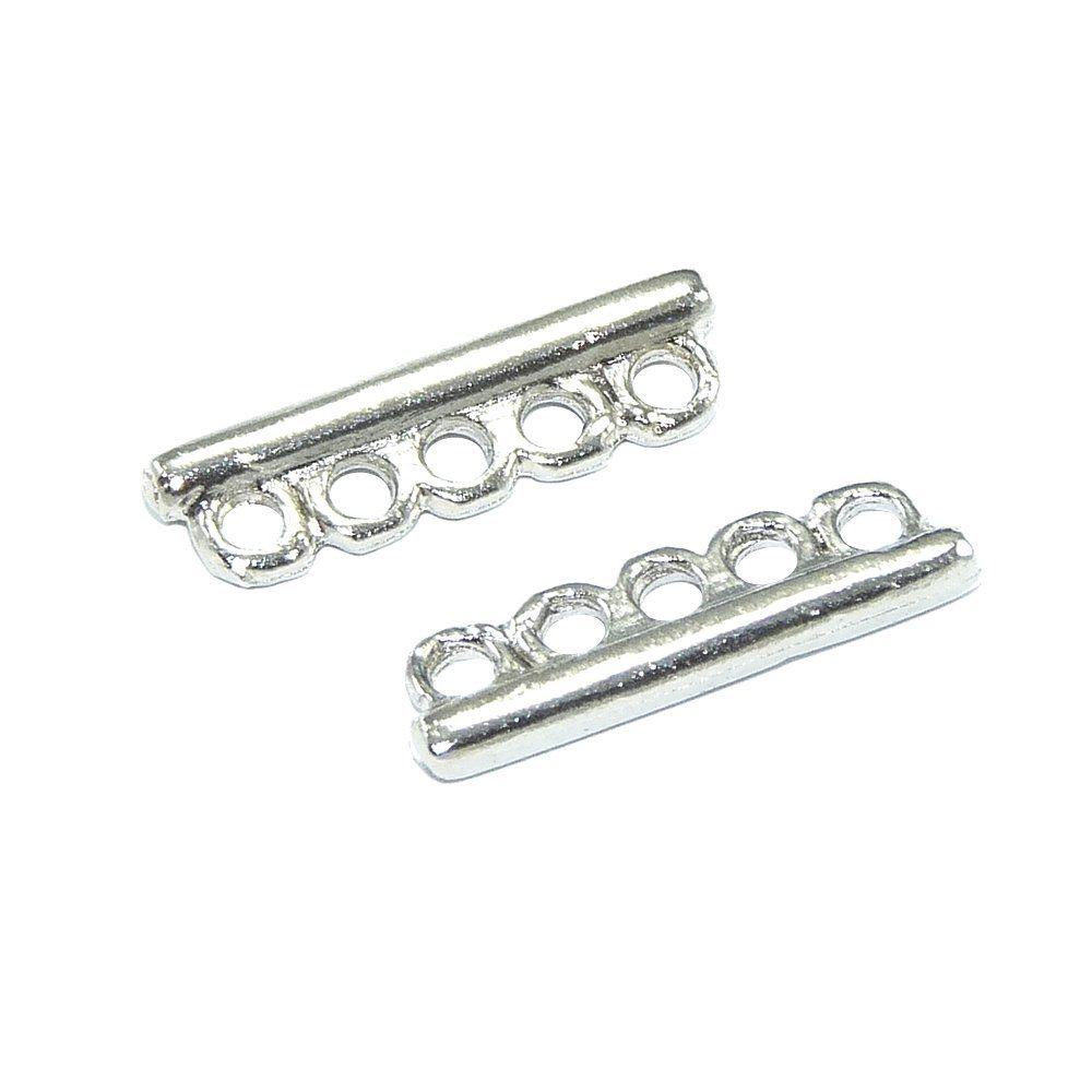 Separador de Metal 5 Saídas - 19mm  - Nathalia Bijoux®