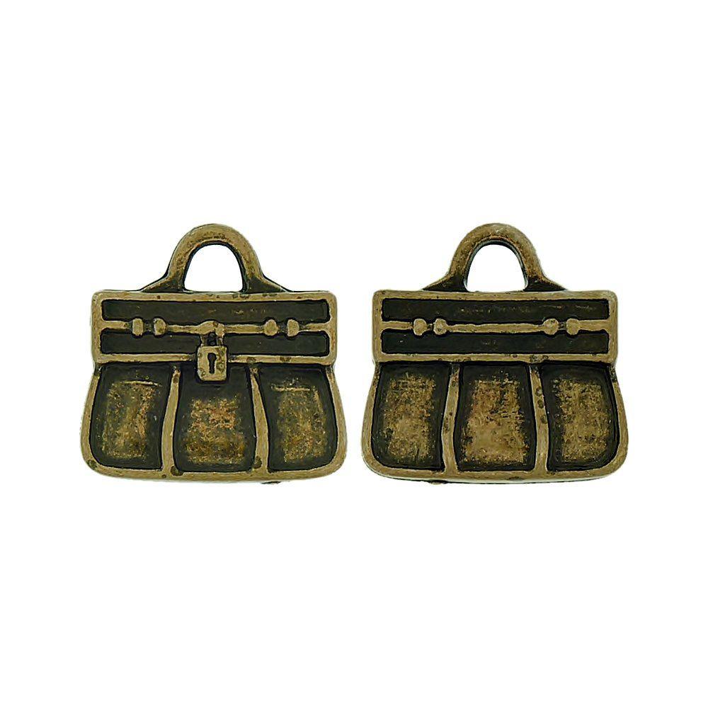 Pingente Bolsa de ABS - 18mm  - Nathalia Bijoux®