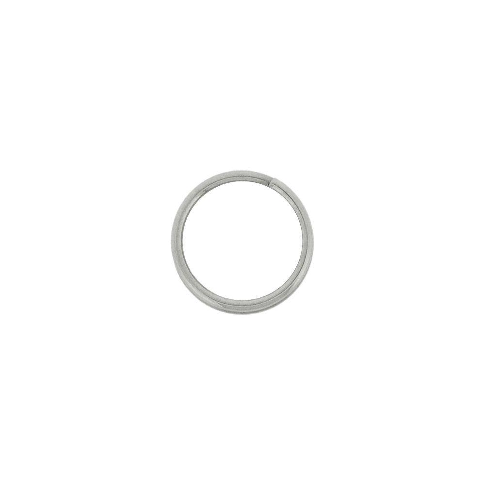 Argola para Chaveiro - Níquel - 10mm - 100pçs  - Nathalia Bijoux®