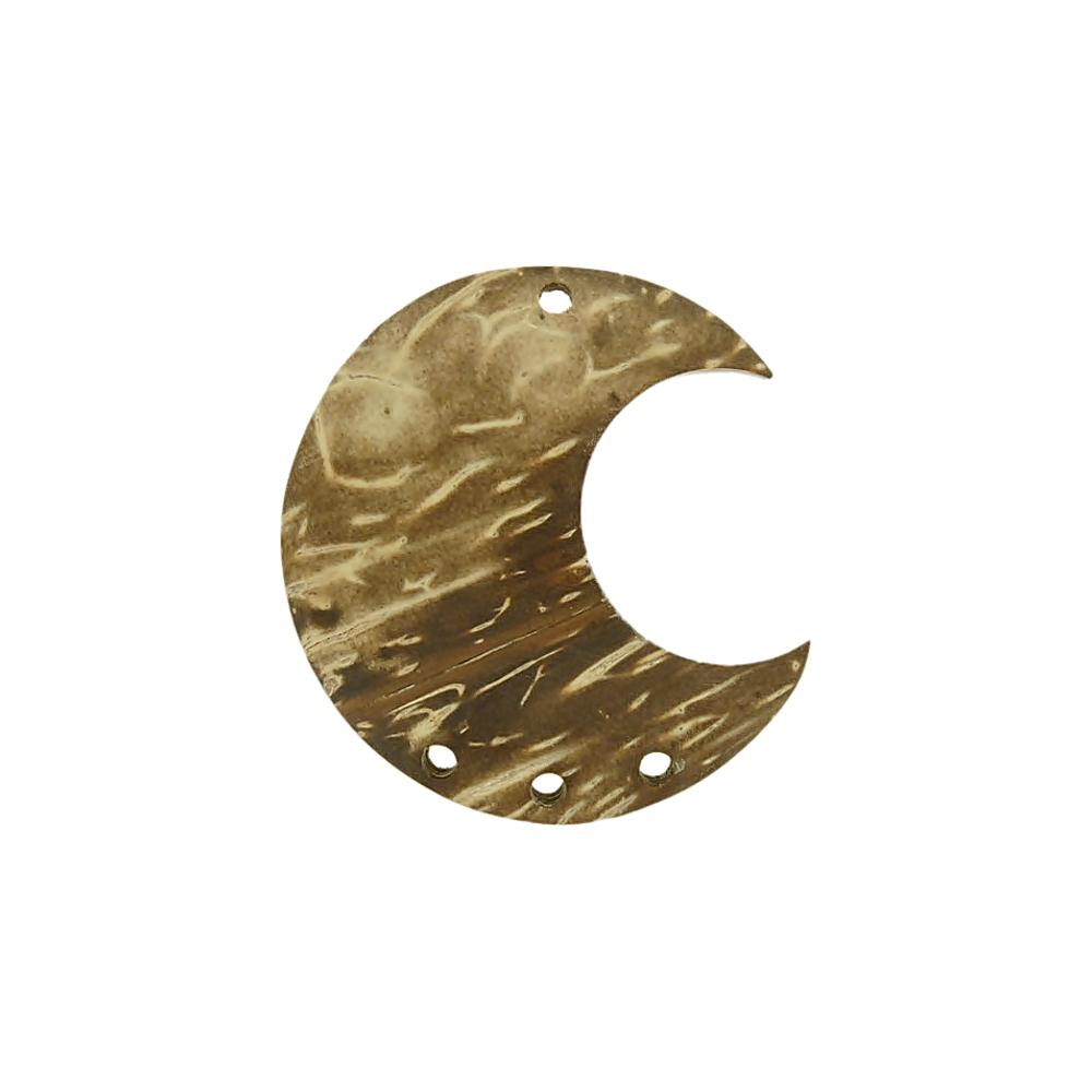 Alongador Lua de Coco 3 Saídas - 40mm  - Nathalia Bijoux®