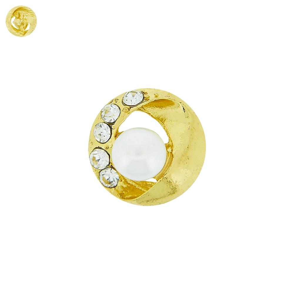 Piercing para Chinelo com Strass - 16mm  - Nathalia Bijoux®