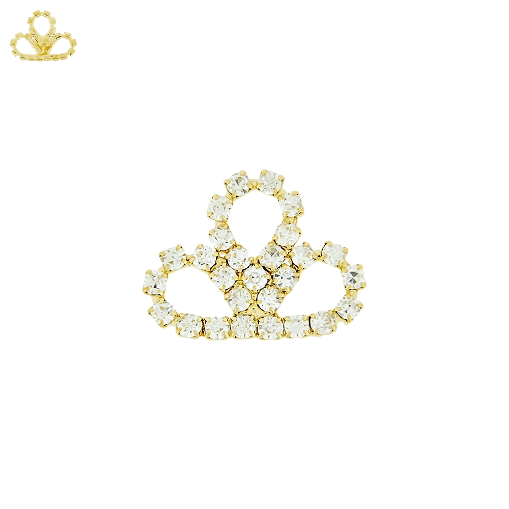 Piercing Coroa para Chinelo com Strass - 17mm  - Nathalia Bijoux®