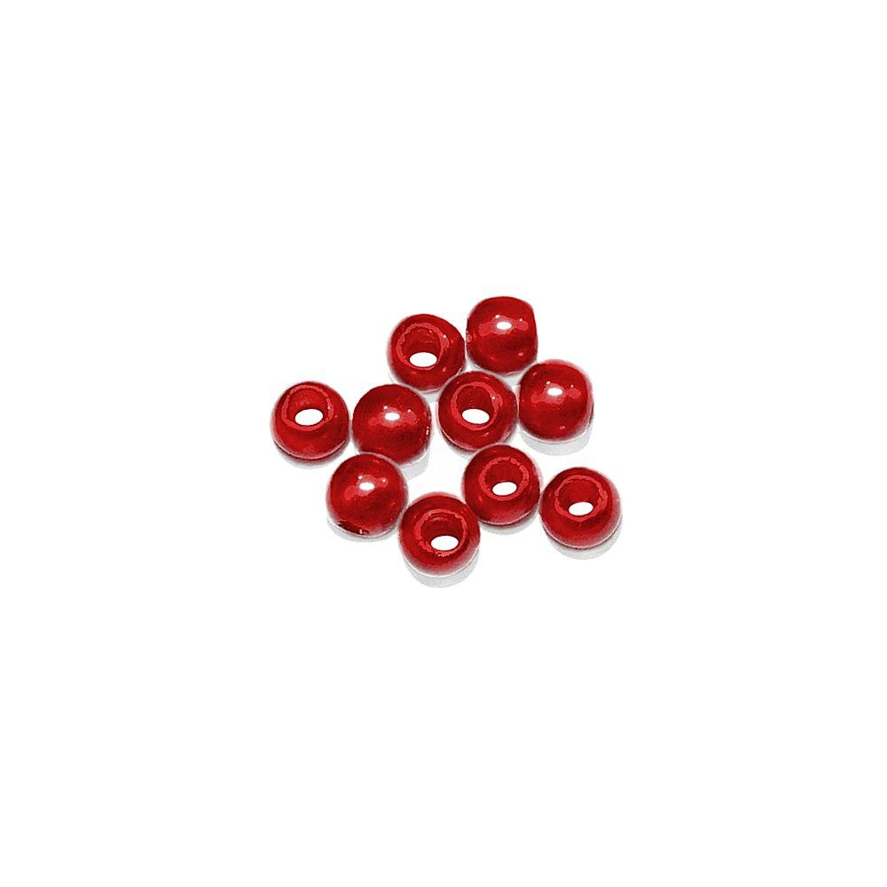 Pérola de Plástico - Vermelho - 3mm - 25g  - Nathalia Bijoux®