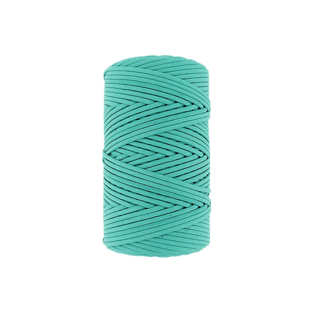 Fio de Cordão Encerado - Verde (475) - 3mm - 1m  - Nathalia Bijoux®
