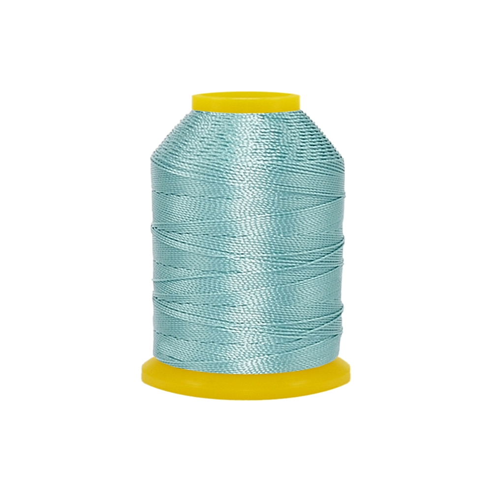 Rolo de Cordonê Nacional - Azul Piscina Claro - 500m  - Nathalia Bijoux®