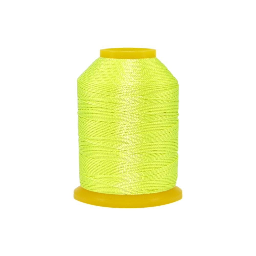 Rolo de Cordonê Nacional - Amarelo Neon - 500m  - Nathalia Bijoux®