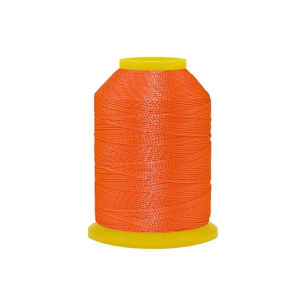 Rolo de Cordonê Nacional - Laranja Neon - 500m  - Nathalia Bijoux®