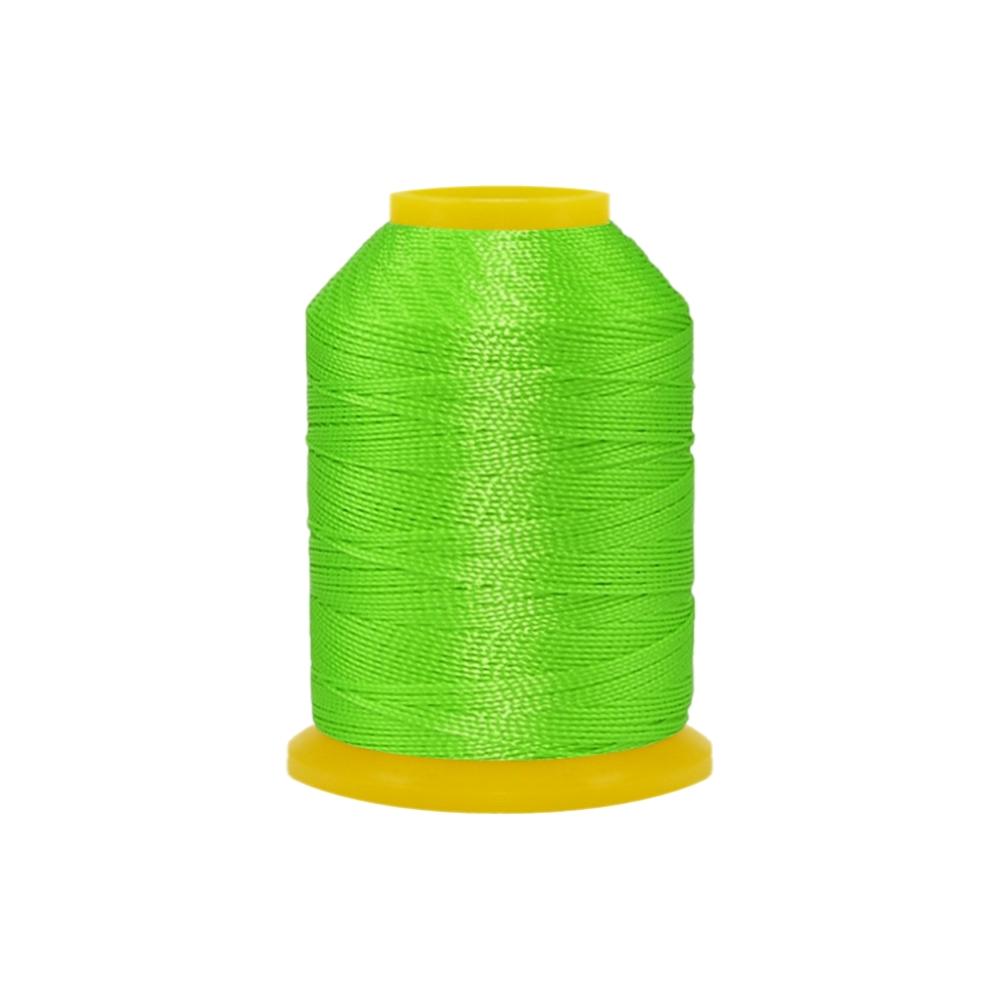 Rolo de Cordonê Nacional - Verde Neon - 500m  - Nathalia Bijoux®
