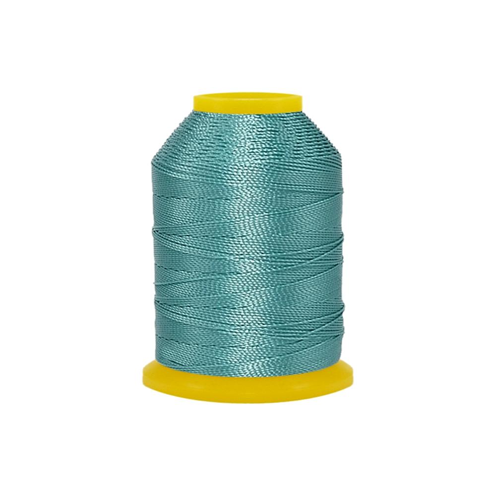 Rolo de Cordonê Nacional - Azul Piscina Escuro - 500m  - Nathalia Bijoux®