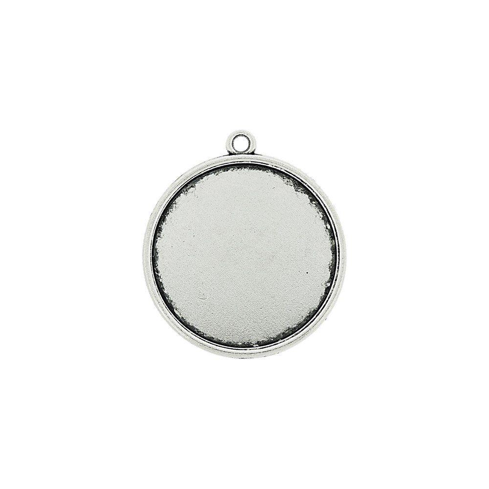 Pingente de Metal - 31mm  - Nathalia Bijoux®