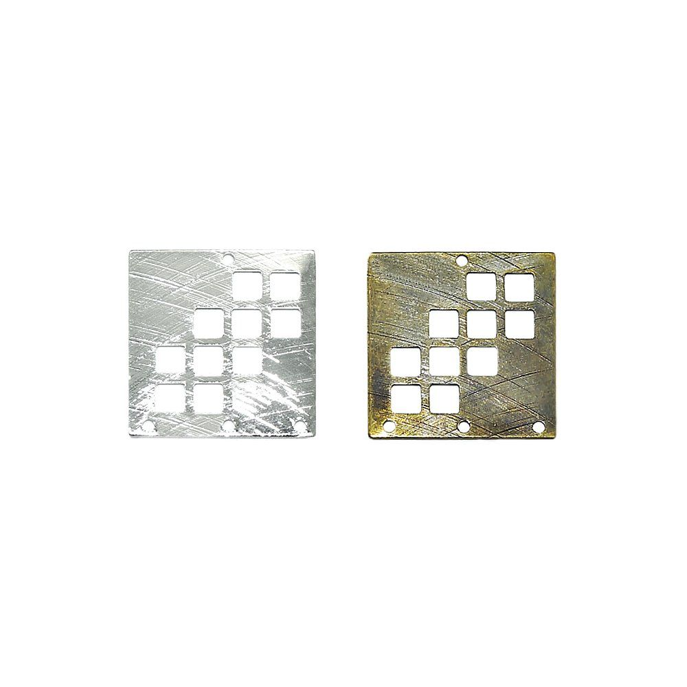 Alongador de Metal 3 Saídas - 20mm  - Nathalia Bijoux®
