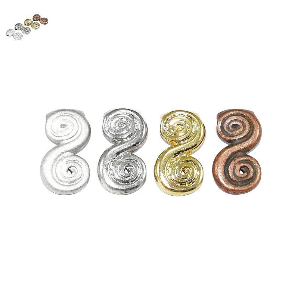 Pingente de Metal - 23mm  - Nathalia Bijoux®