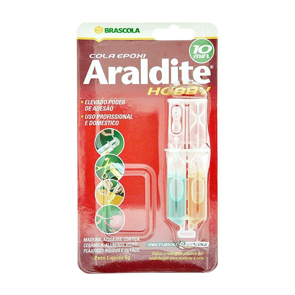 Araldite Hobby - 10 Minutos - 6g  - Nathalia Bijoux®