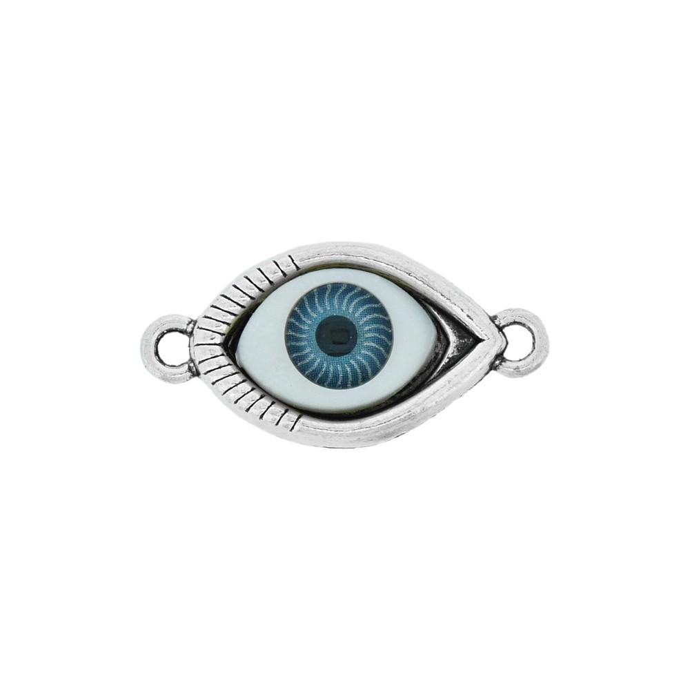 Alongador Olho de Metal 2 Saídas - 30mm  - Nathalia Bijoux®