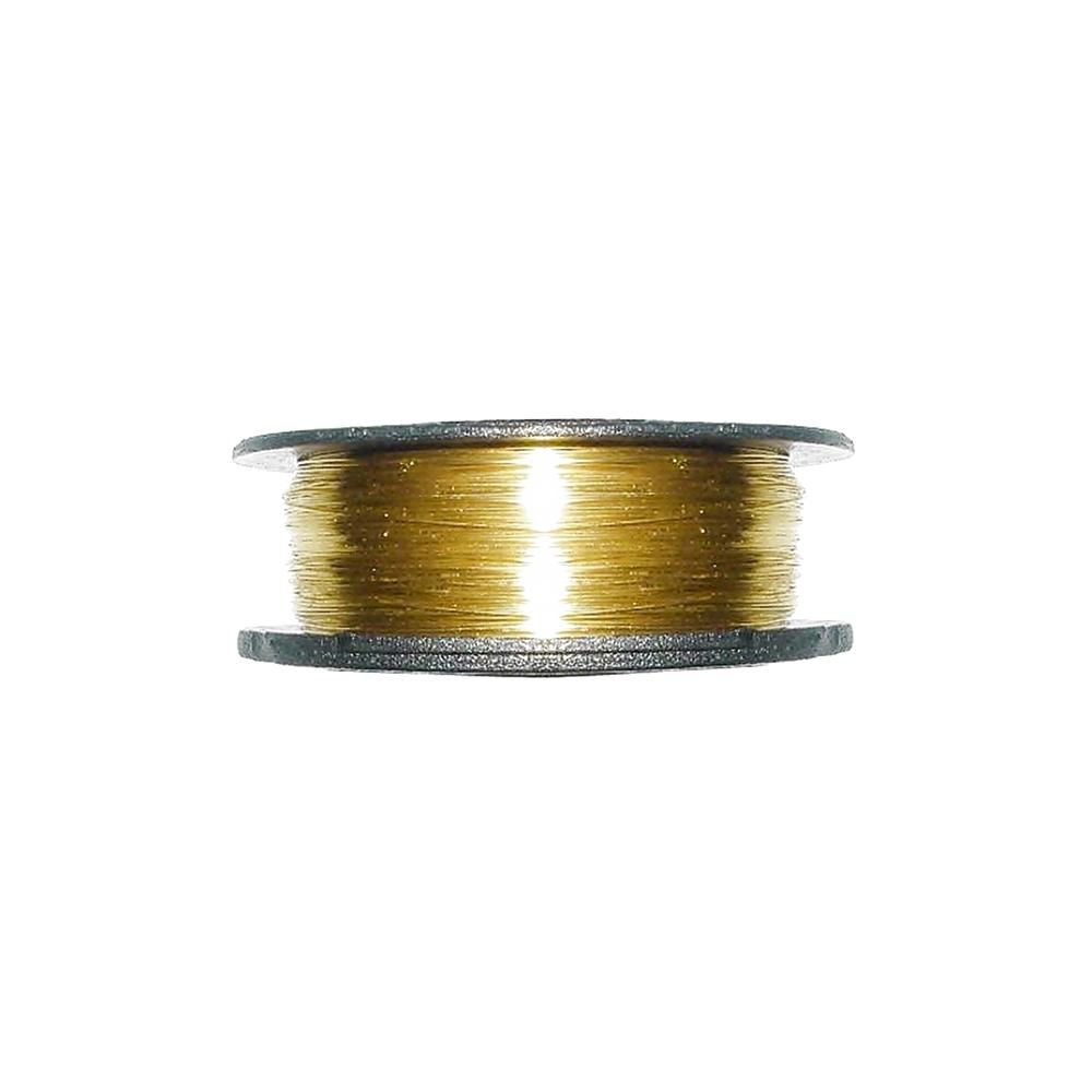 Arame Copper Wire - Dourado - 0.40mm - 50m  - Nathalia Bijoux®