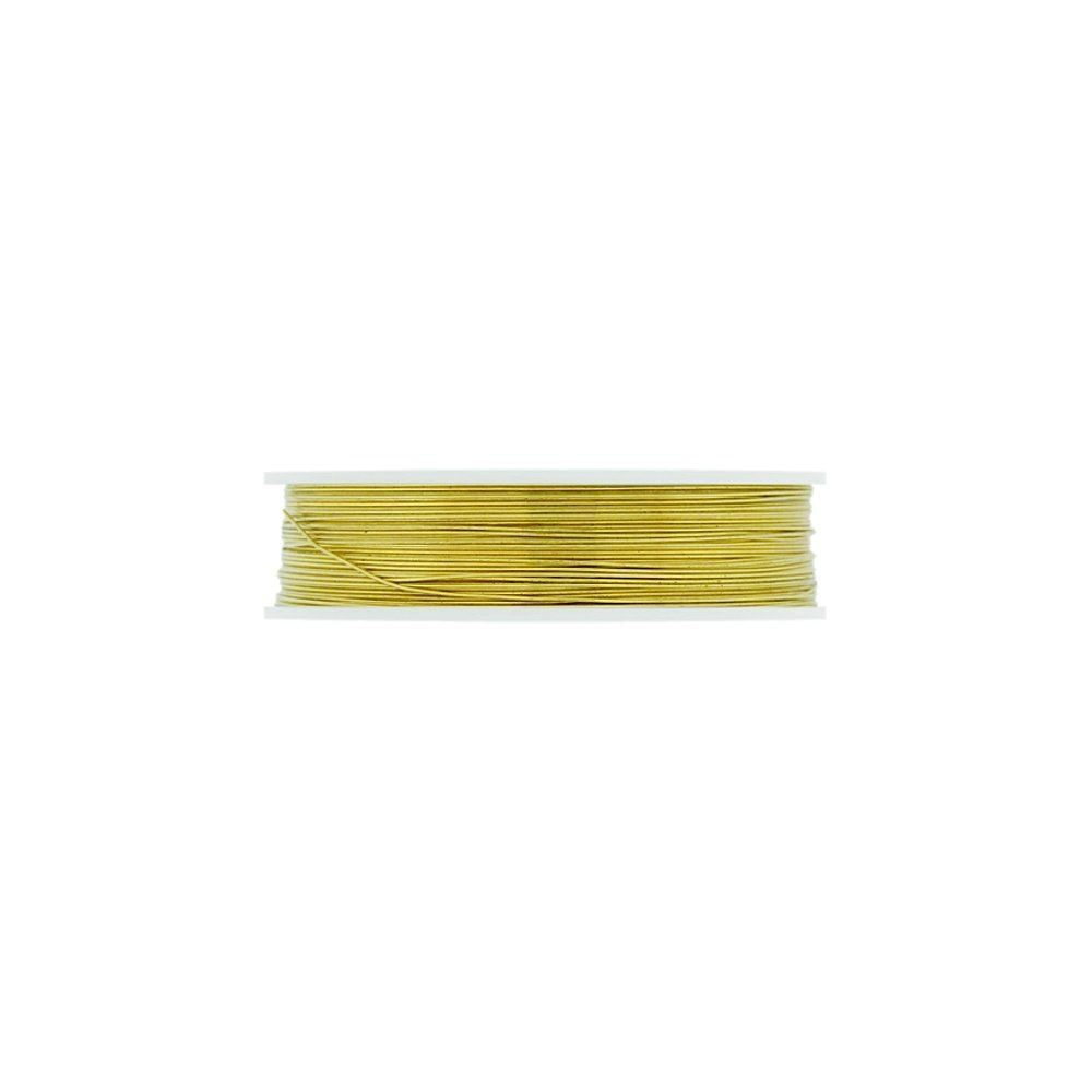 Arame Copper Wire - Gold - 10m  - Nathalia Bijoux®