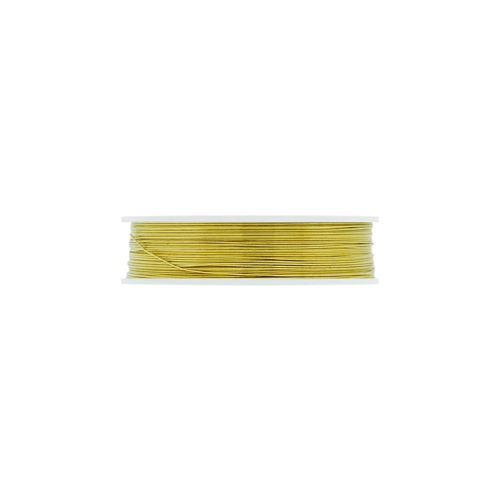 Arame Copper Wire - Gold - 0.30mm - 10m  - Nathalia Bijoux®