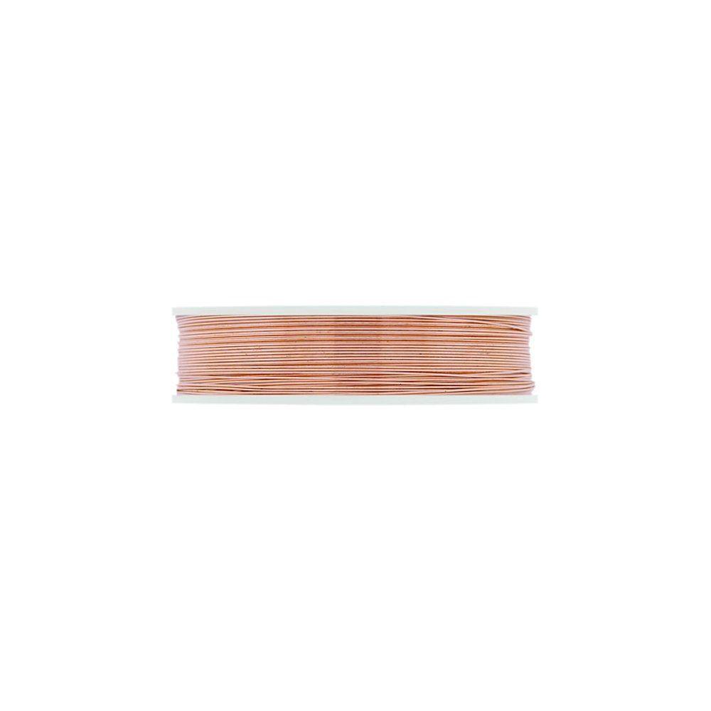 Arame Copper Wire - Peach - 10m  - Nathalia Bijoux®