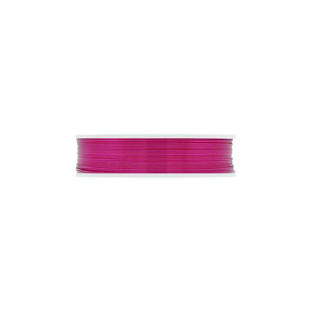 Arame Copper Wire - Pink - 10m  - Nathalia Bijoux®