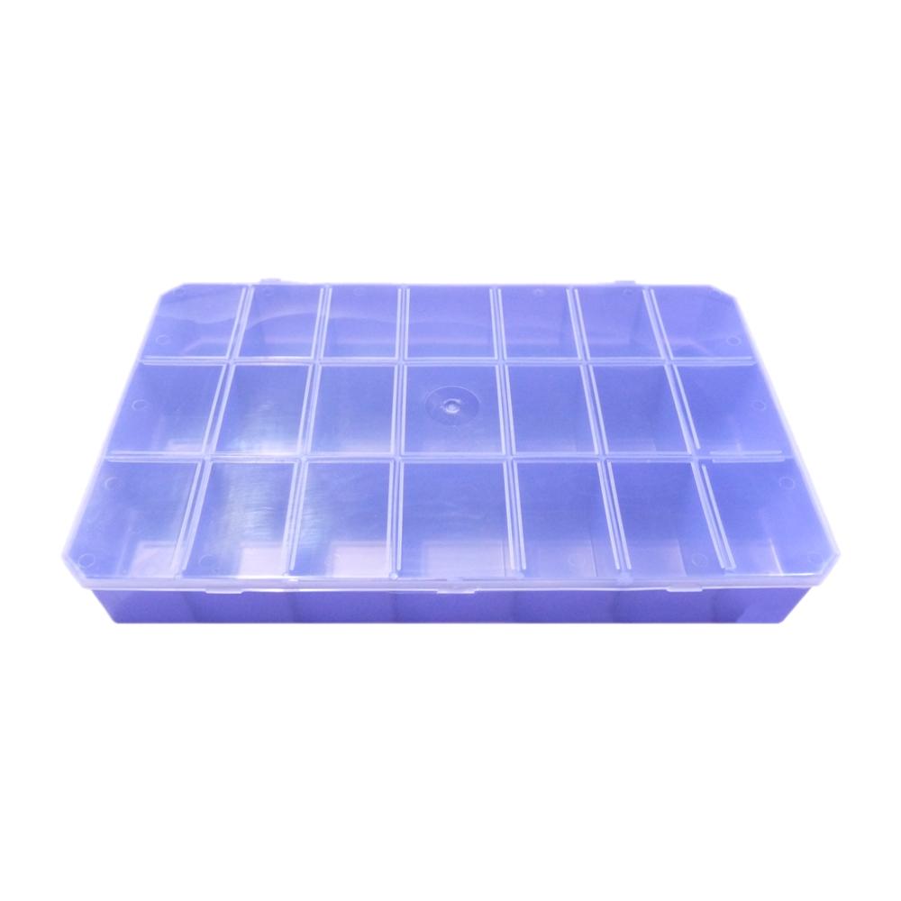 Caixa Organizadora Multiuso - Lilás - 30cmx18cm  - Nathalia Bijoux®