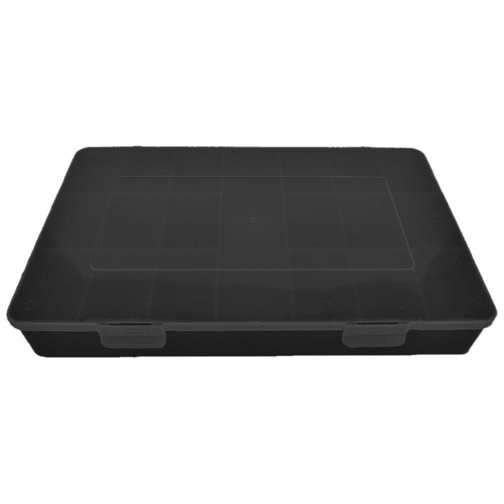 Caixa Organizadora Multiuso - Preto - 30cmx18cm  - Nathalia Bijoux®