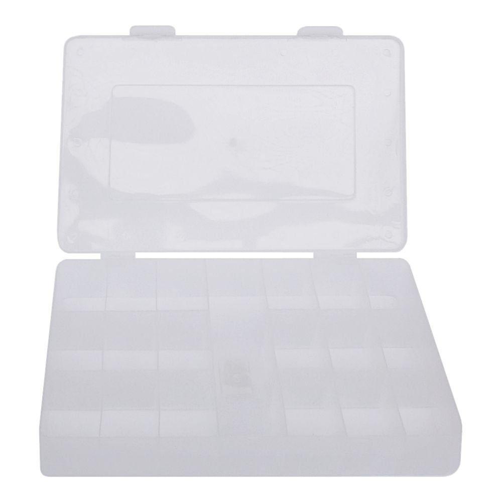 Caixa Organizadora Multiuso - Transparente - 30cmx18cm  - Nathalia Bijoux®