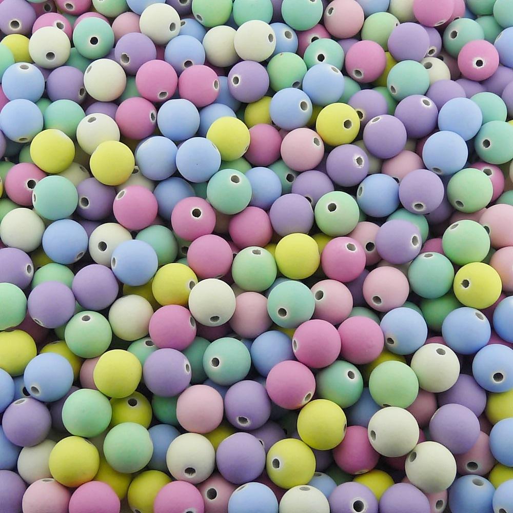 Entremeio Bolinha de Borracha - Variado Candy - 10mm - 250g  - Nathalia Bijoux®