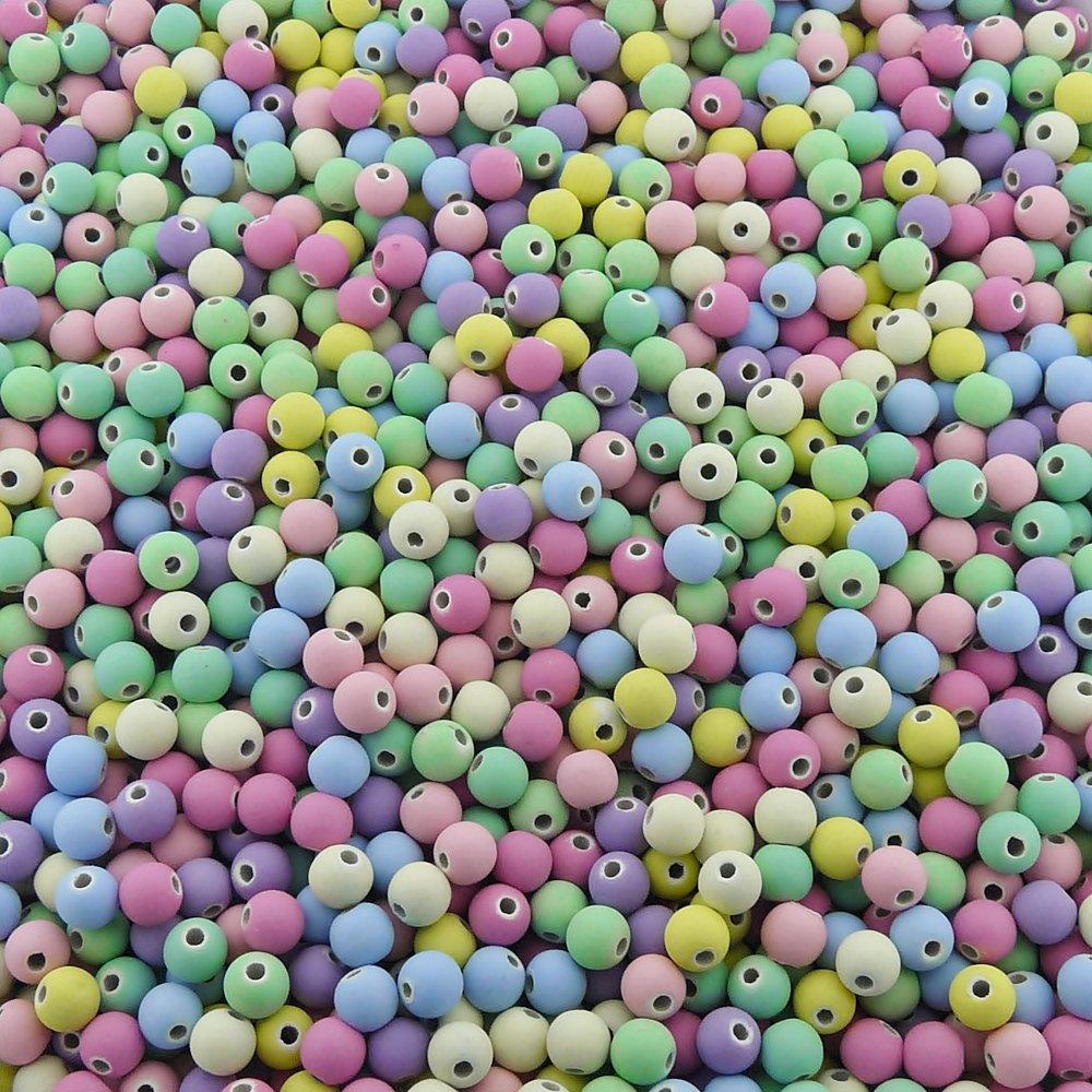 Entremeio Bolinha de Borracha - Variado Candy - 6mm - 250g  - Nathalia Bijoux®