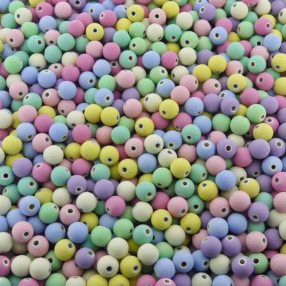 Entremeio Bolinha de Borracha - Variado Candy - 8mm - 250g  - Nathalia Bijoux®