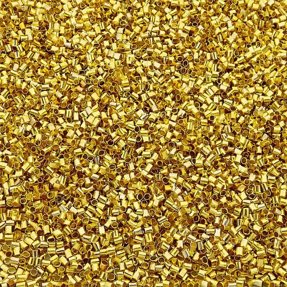 Fixador Dourado - Aprox. 5000pçs  - Nathalia Bijoux®