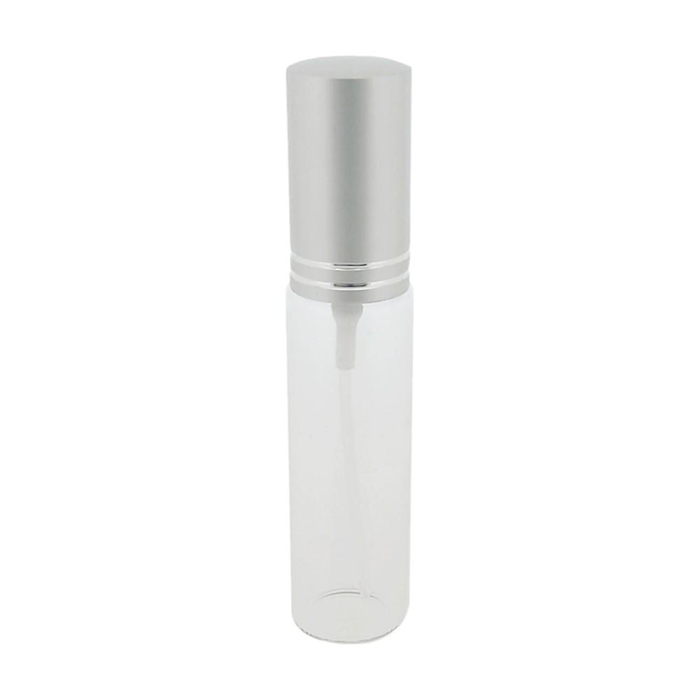 Garrafinha de Vidro com Borrifador e Tampa - 10cm x 1.8cm - 13ml - 10pçs  - Nathalia Bijoux®
