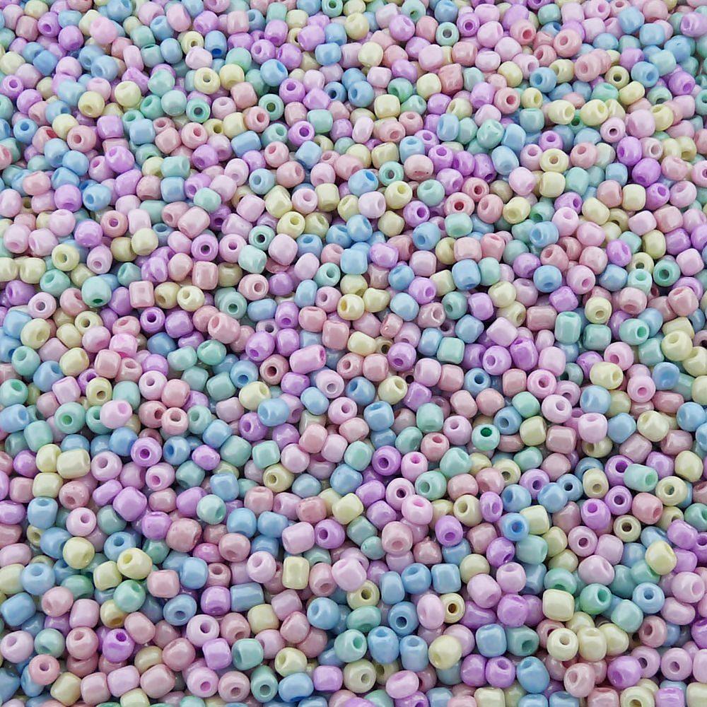 Miçanga 6/0 - Variado Candy - 250g  - Nathalia Bijoux®