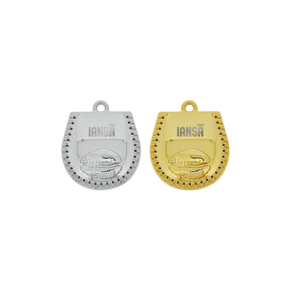 Pingente Búzio Iansã de Metal - 29mm  - Nathalia Bijoux®