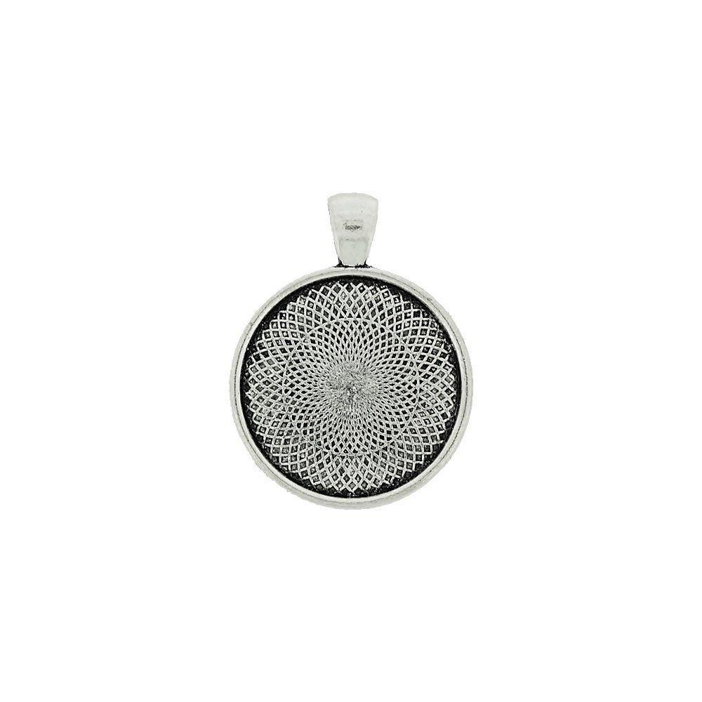 Pingente de Metal - 36mm  - Nathalia Bijoux®