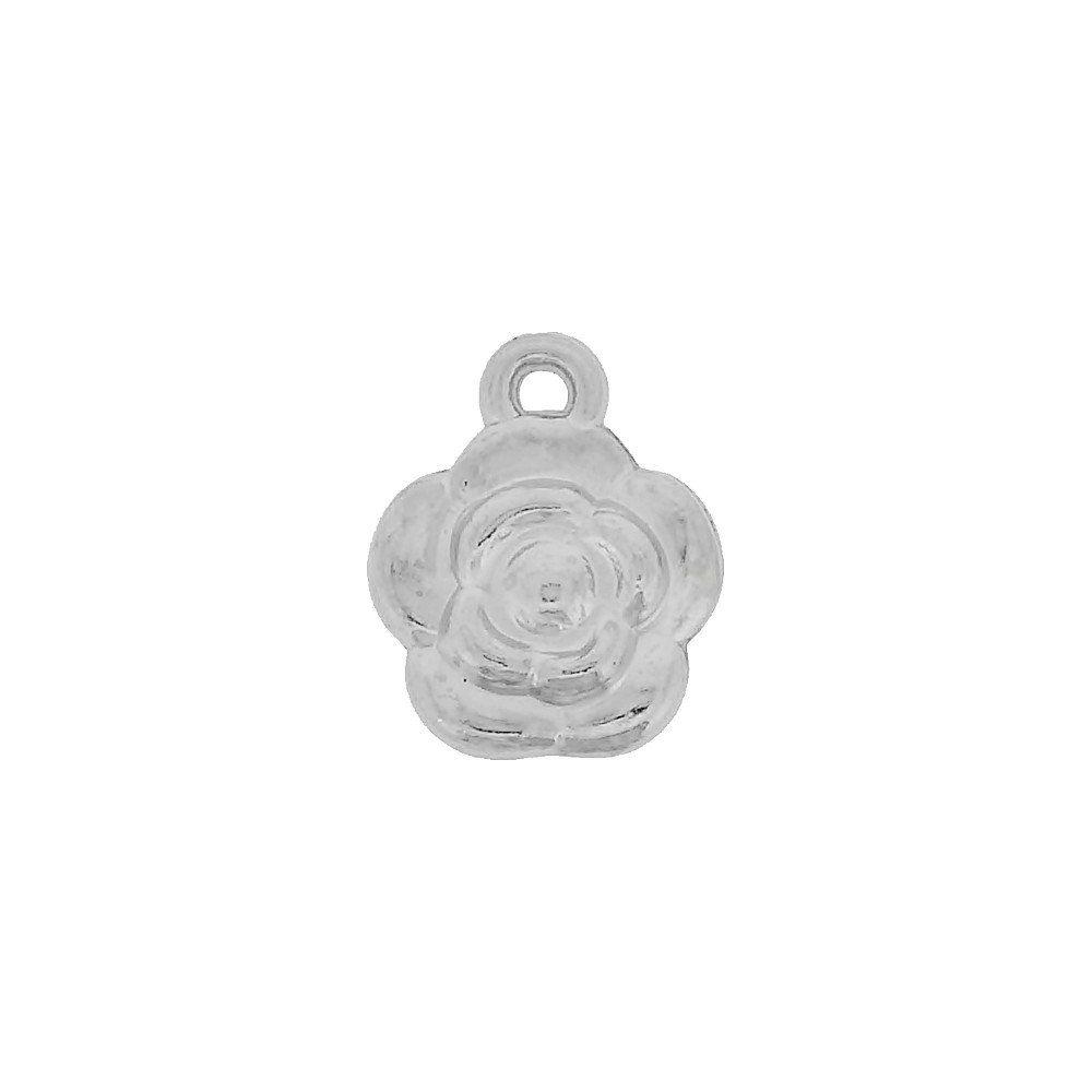 Pingente Flor de ABS - 16mm  - Nathalia Bijoux®