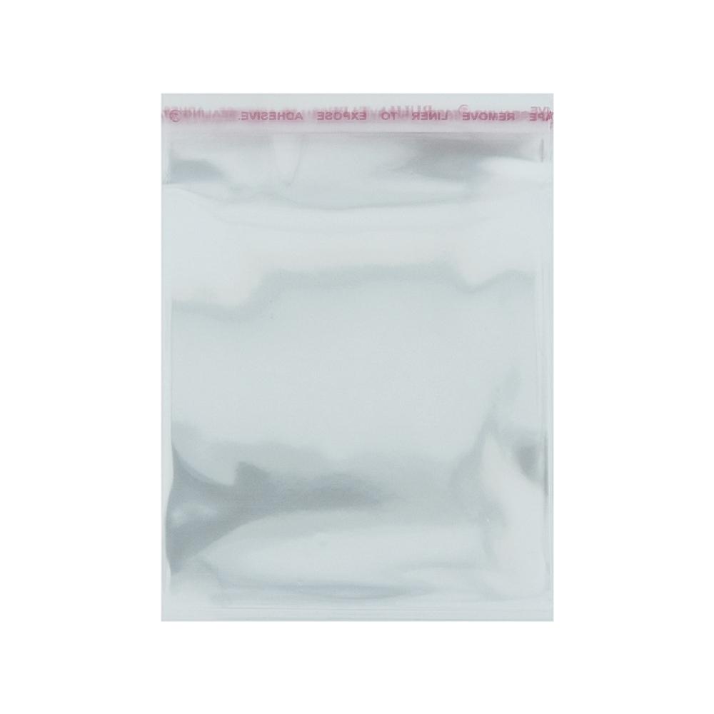 Saco Plástico com Aba Adesiva - Transparente - 45cm x 60cm - 100pçs  - Nathalia Bijoux®