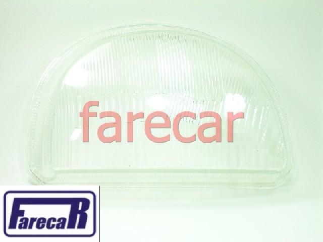 LENTE DE VIDRO DO FAROL PRINCIPAL DO TWINGO 1993 A 1997  - Farecar Comercio