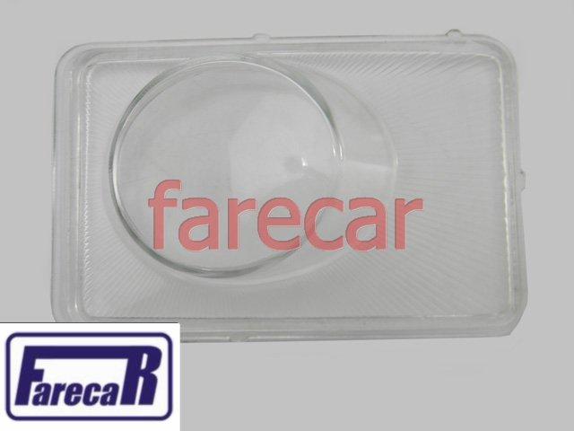 LENTE VIDRO FAROL MILHA VECTRA 2006 a 2011  - Farecar Comercio