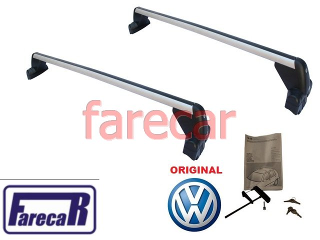 SUPORTE BARRA RACK DO TETO ORIGINAL VW GOLF 2001 A 2013  - Farecar Comercio