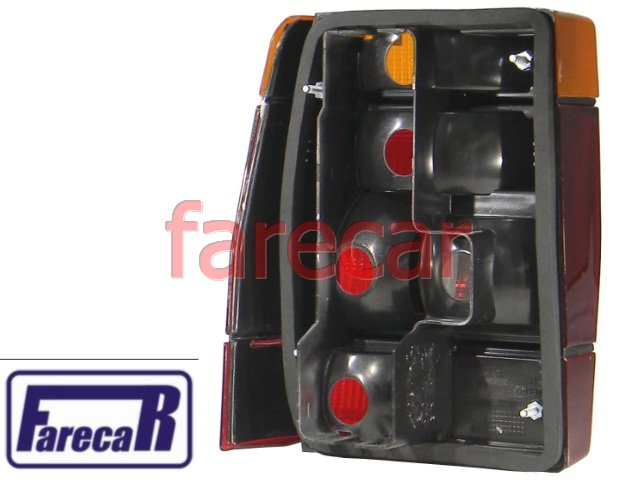LANTERNA TRASEIRA FIAT PREMIO TRICOLOR NOVA  - Farecar Comercio