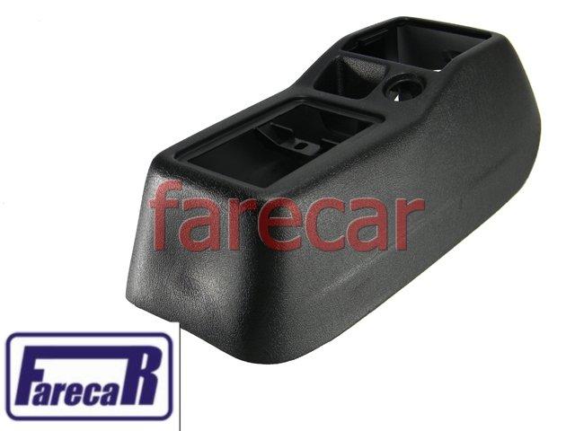 CONSOLE CENTRAL GOL BOLA E G2 PRETO NOVO ORIGINAL VW  - Farecar Comercio