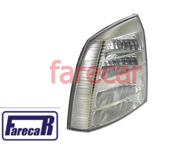 Par de lanterna traseira toda Cristal marca Arteb GM Astra Sedan 2003 2004 2005 2006 2007 2008 2009 2010 2011 2012  - Farecar Comercio